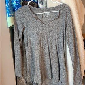 Grey Holister sweater